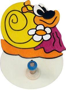 Obrázok Drevený 1 vešiačik - Šneková