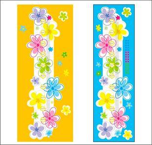 Obrázok Mierka vzrastu Kvetinky č. 13