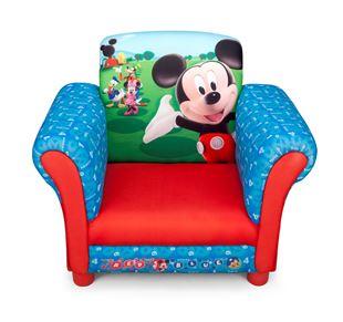 Obrázok Disney detské čalúnené kresielko Mickey Mouse