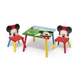 Obrázok Detský stôl s stoličkami Myšák Mickey II