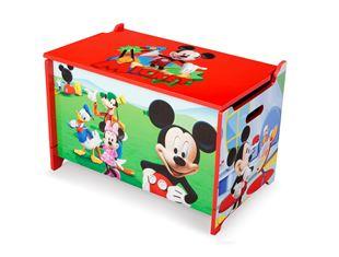 Obrázok Detská drevená truhla Mickey Mouse Myšiaka