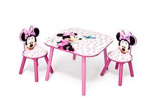 Obrázok Detský stôl s stoličkami Minnie III Myška