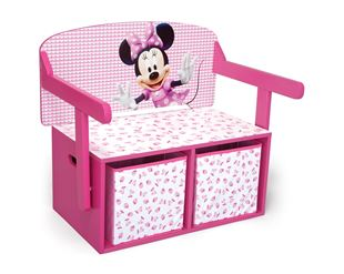 Obrázok Detská lavica s úložným priestorom Myška Minnie Minni