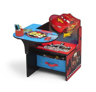 Obrázok Detská stolička so stolčekom Cars II