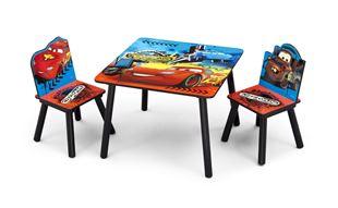 Obrázok Detský stôl s stoličkami Cars II