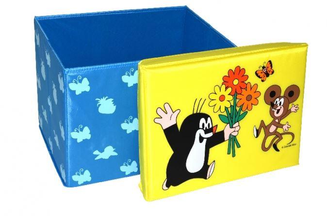 fc4c81994 Skladací úložný box - sedátko 2v1 Krtko. Bambulin.sk - hračky ...