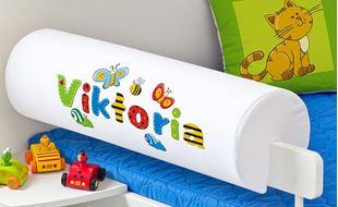 Obrázok Chránič na posteľ s menom - Lúka + meno
