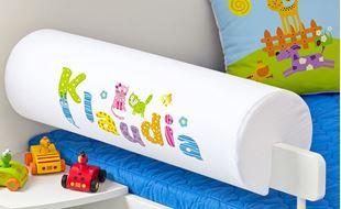 Obrázok Chránič na posteľ s menom - Funny cats + meno