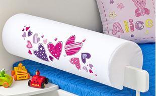 Obrázok Detský chránič na posteľ - Srdiečka