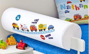 Obrázok Detský chránič na posteľ - Autá