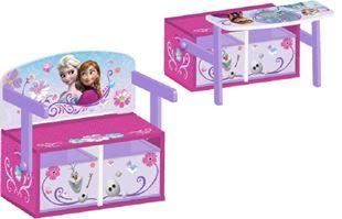 Obrázok Detská lavica s úložným priestorom Frozen