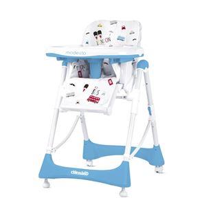 Obrázok Detská jedálenská stolička Modesto - Baby blue