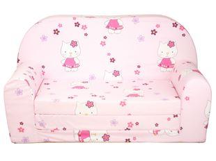 Obrázok Rozkladacia detská mini pohovka Hello Kitty