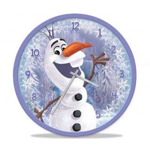 Obrázok Nástenné hodiny Frozen Ľadové kráľovstvo - Olaf 25 cm