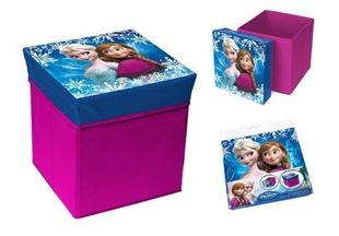 Obrázok Skladací úložný box - sedátko 2v1 Frozen