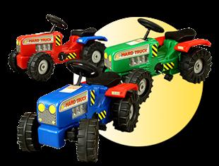 Obrázok Detský šliapací traktor