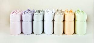 Obrázok Mantinel do postieľky 360x30 cm - s volánikom - Mix farieb