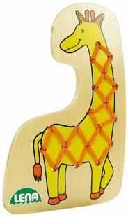 Obrázok Navliekacie obrázok - Žirafa