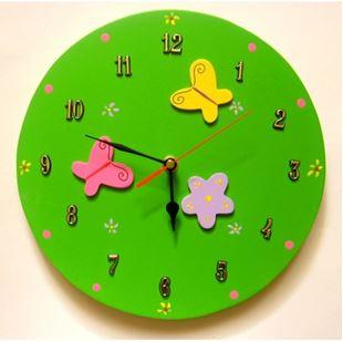 Obrázok Detské drevené hodiny Lúka