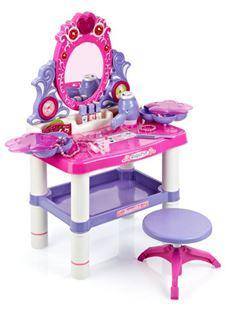 Obrázok Detský toaletný stolík s otočným zrkadlom