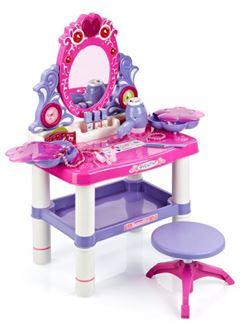 Obrázok z Detský toaletný stolík s otočným zrkadlom