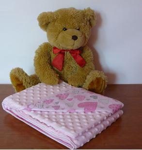 Obrázok Detská deka Minka 135 x 100cm - rôzne motívy