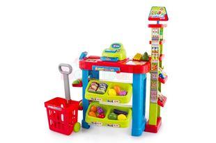 Obrázok Detský supermarket s nákupným košíkom