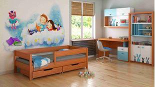 Obrázok Detská posteľ - MIX - 140x70cm