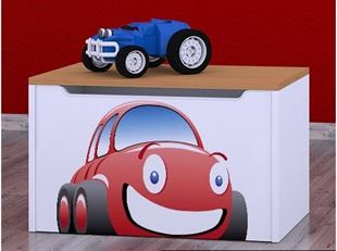 Obrázok Detská komoda na hračky - auto buk