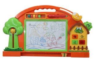 Obrázok Farebná kresliaca tabuľka - oranžová