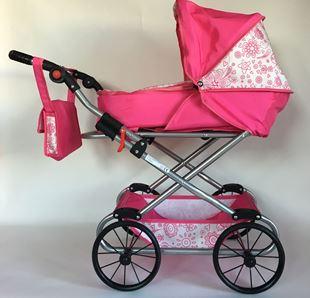 Obrázok Kočík pre bábiky NATÁLIE - Ružová