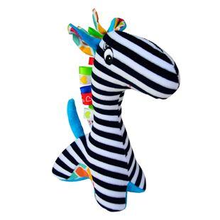 Obrázok Edukačná hračka s hrkálkou - Žirafa