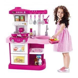 Obrázok Detská kuchynka s rúrou a umývačkou - Ružová