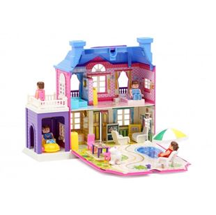 Obrázok Dvojposchodová vila pre bábiky