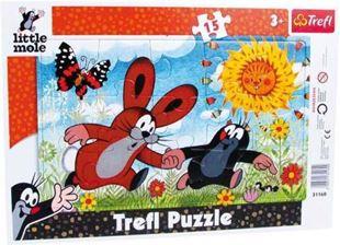 Obrázok Puzzle v ráme Krtko