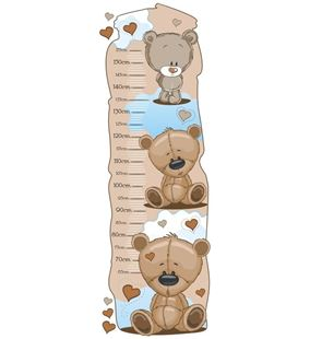 Obrázok Meter na stenu - Medvedíci