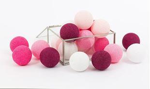 Obrázok Svietiace guličky - Sweet Pink