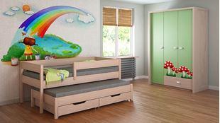 Obrázok Detská posteľ s prístelkou - Junior - 200x90cm