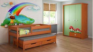 Obrázok Detská posteľ s prístelkou - Junior - 180x80cm