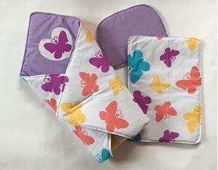 Obrázok Súpravička pre bábiku - Motýliky