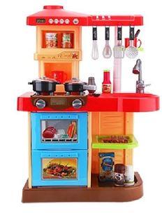 Obrázok Detská kuchynka s rúrou a umývačkou - Červená