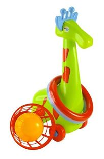 Obrázok Žirafa s krúžkami a košíkom