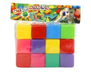 Obrázok Plastové kocky - 12 kusov