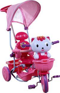 Obrázok Detská trojkolka s vodiacou tyčou Arti - Mačička