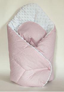 Obrázok Zavinovačka Mink - Ružová s bodkami