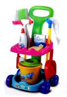 Obrázok Detský upratovací vozík