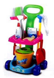 Obrázok z Detský upratovací vozík