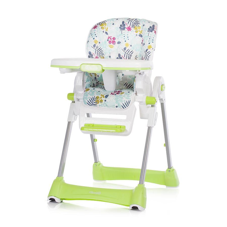 f7039ca35ac3 Chipolino Detská jedálenská stolička Bravo - Zelená Listy. Bambulin ...