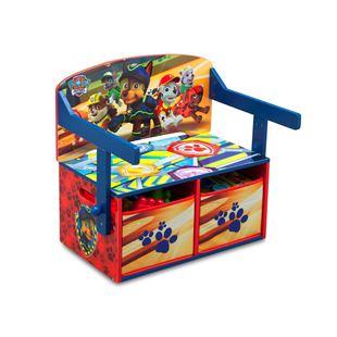 Obrázok Detská lavica s úložným priestorom Tlapková patrola