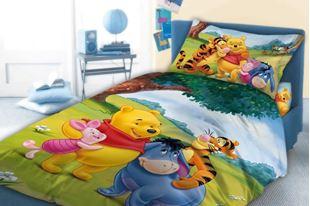 Obrázok Detské obliečky Medvedík Pú 033 - 100 x 135